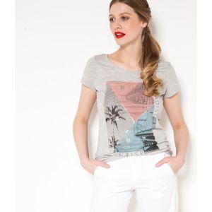 d060449cb9d T-shirt Camaieu femme - Achat   Vente T-shirt Camaieu femme pas cher ...