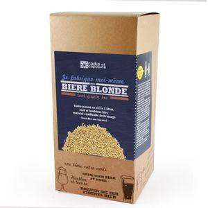 BIÈRE Coffret brassage tout grain 5L Bière blonde bio 38