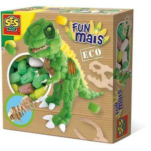 FLOCON DE MAÏS SES CREATIVE Dinosaure en funmais avec squelette e