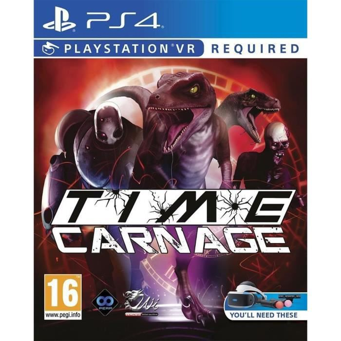 Time Carnage PS4 - PSVR requis