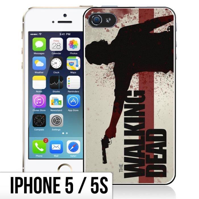 coque iphone 5 walking dead