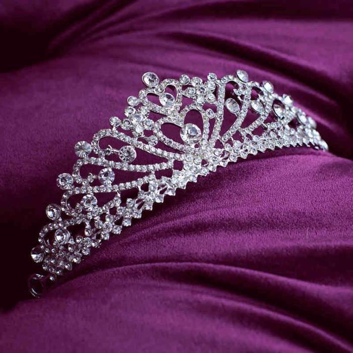 diadme diatmecouronneaccessoiresbijoux cristal prince - Couronne Princesse Adulte