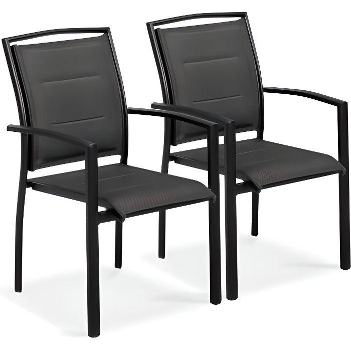 fauteuil de jardin noir achat vente fauteuil de jardin noir pas cher cdiscount. Black Bedroom Furniture Sets. Home Design Ideas