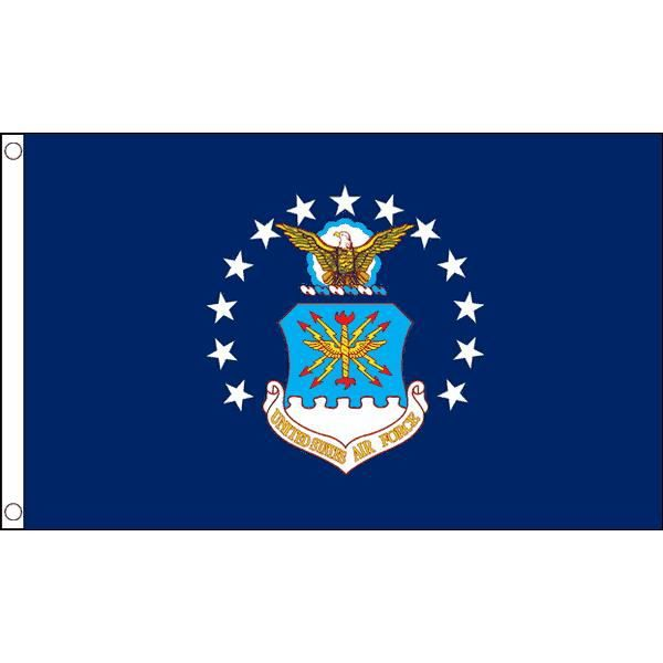 DRAPEAU - BANDEROLE Drapeau Force aérienne des États-Unis 150x90cm - U