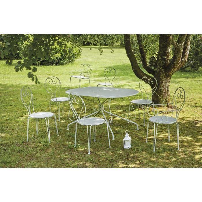 Salon jardin romantique - Achat / Vente pas cher