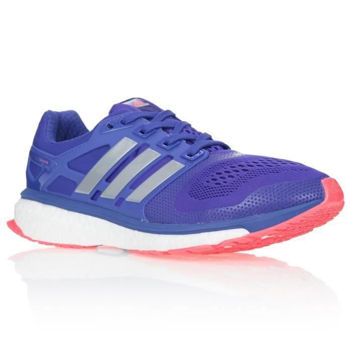 100% authentic d9e2b 111e8 Adidas ENERGY BOOST ESM Chaussures running femme violet