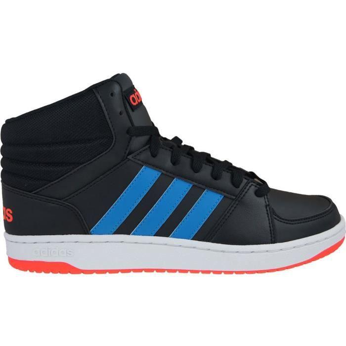 Vs Vente Mid Adidas Chaussures Achat Blanc Basket Hoops ECZq7wq