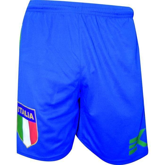 9987d2c852 Short pour homme, Italia ekeko Short de sport, football, Gym, fitness.  confortable et parfait pour tous les sports XXL