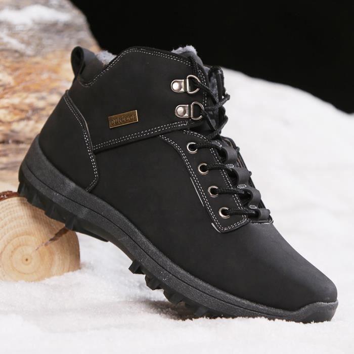 Coton Courtes Bottes Étanches L'hiver Avec Botte Chaussures Pour rCxWdBoe