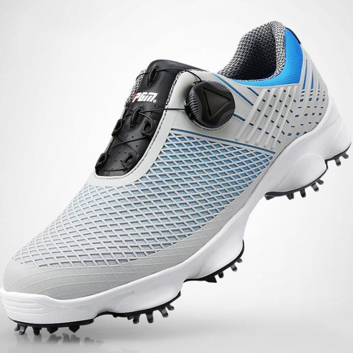 Pointure 39 44 Imperméables Chaussures de Golf pour Hommes avec Crampons