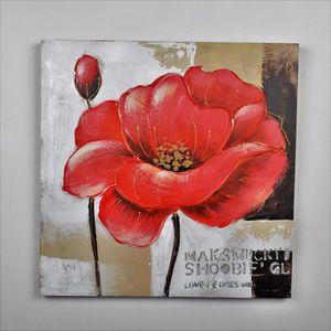 5ec2aa632a0c TABLEAU - TOILE Tableau déco Fleurs 71 - Toile peinte à la main