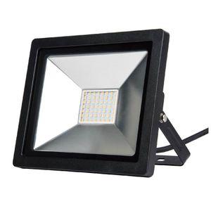 PISCIS Projecteur noir LED intégré 30 w 2100 lumen