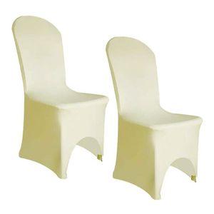 housse de chaise en lycra achat vente housse de chaise en lycra pas cher soldes d s le 10. Black Bedroom Furniture Sets. Home Design Ideas