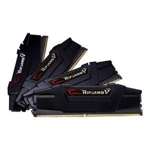 MÉMOIRE RAM G.Skill Ripjaws V DDR4 64 Go: 4 x 16 Go DIMM 288 b