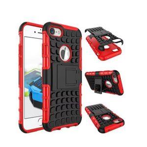 coque anti choc rouge iphone 8