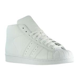b54da1e765e Adidas Originals Superstar Pro Model Sneaker AQ5217 Blanc Blanc ...