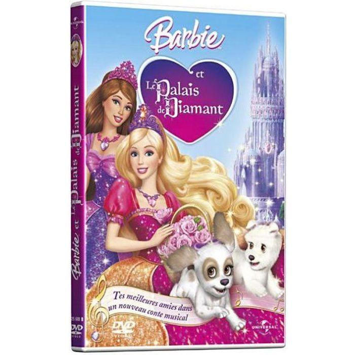 DVD DESSIN ANIMÉ DVD Barbie et le palais de diamants