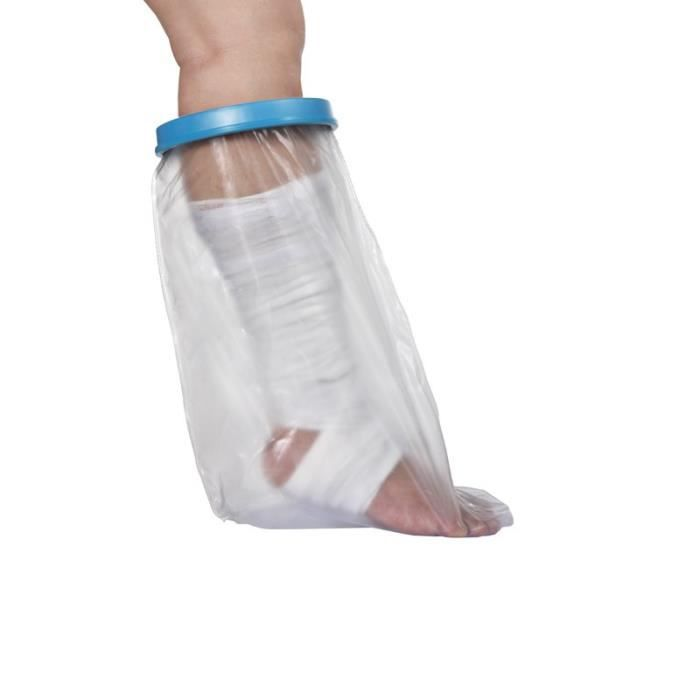 Housse Protect douche tibia Adulte Mixte NOVOLIFE NL-12111 - Etanche - Protection pour plâtre est en polypropylène