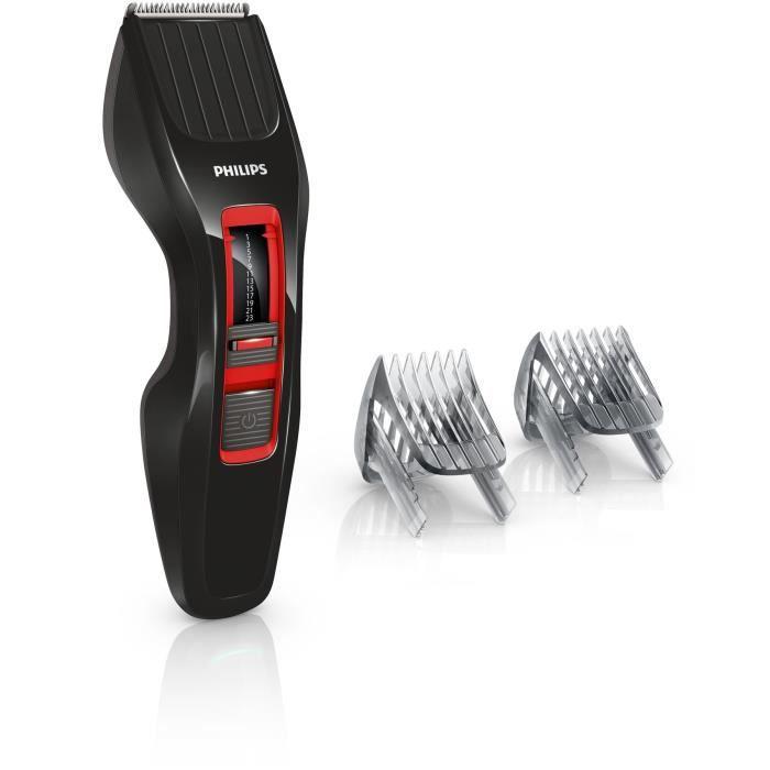 PHILIPS HC3420/17 Tondeuse à cheveux - Sabot réglable 12 hauteurs de coupe 1 à 23 mm - Autonomie 60
