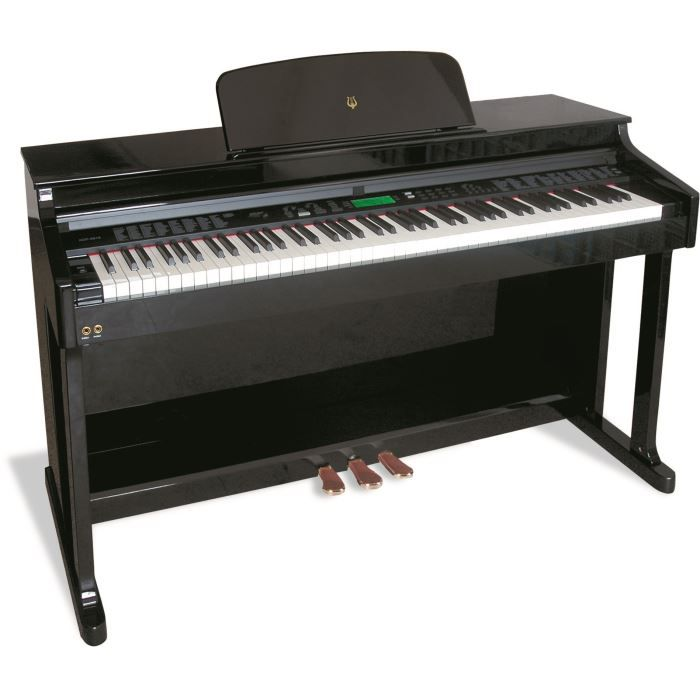 delson piano meuble mezzo rosewood 88 touches pas cher achat vente piano cdiscount. Black Bedroom Furniture Sets. Home Design Ideas