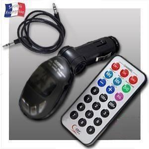 car mp3 transmetteur fm pour lecteur mp3 cle usb. Black Bedroom Furniture Sets. Home Design Ideas