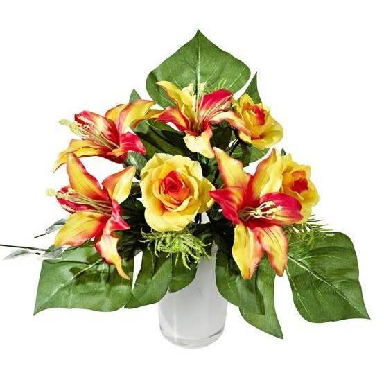 Fleurs artificielles lys achat vente fleurs for Vente fleurs artificielles