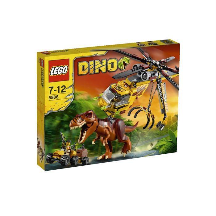 Lego dino la chasse du t rex achat vente assemblage construction cdiscount - Jeux lego dino ...