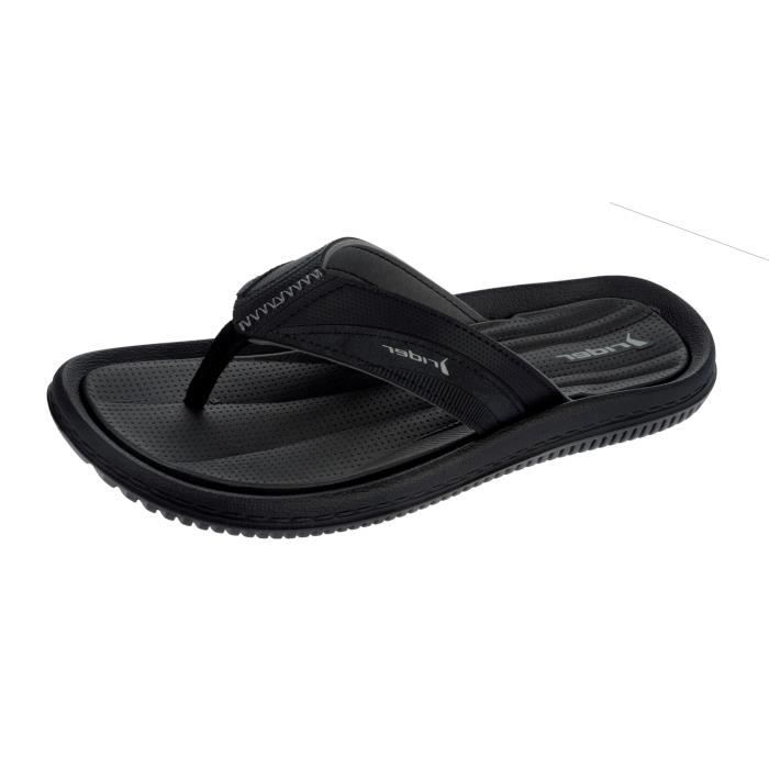 Rider Dunas XI Tongs - Sandales pour hommes Black 9 2yOU3ItW
