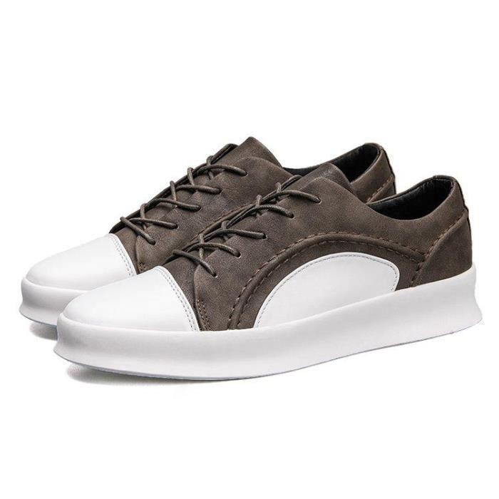 Chaussures DéTente LéGer Haute Qualité Un Amorti AntidéRapant Homme Kaki 43 R57698428_1715