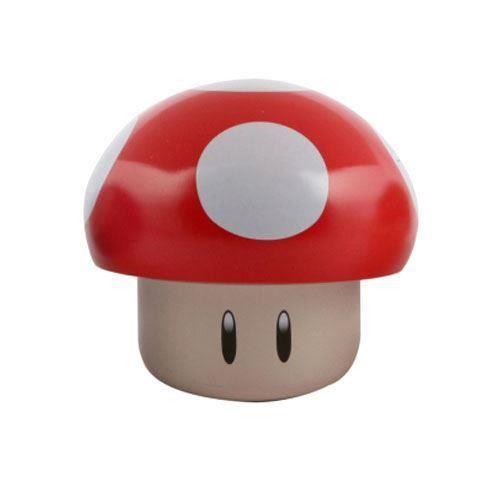 BOÎTE À DRAGÉES Bonbons Nintendo aux champignons officiels: Rouge