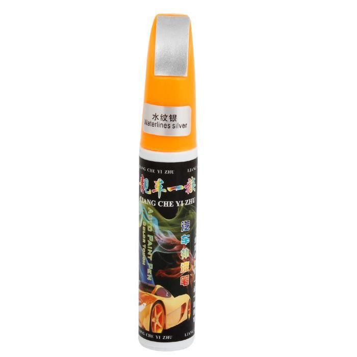 EFFACE RAYURE - RENOVATEUR Reflets de réparation de rayures pour voiture 12 ml (peinture Waterlines Argenté