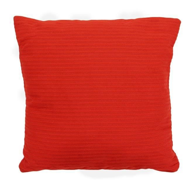housse de coussin rouge 40 x 40 cm - achat / vente housse de