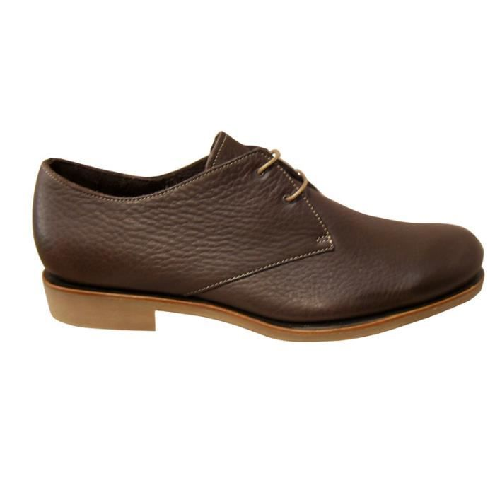 Chaussure ville derby homme PARABOOT cuir marron