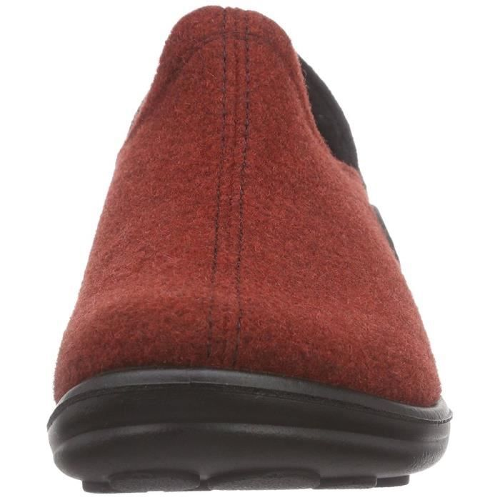 chaussons maddy h 03 femme romika 18503 42 Rouge