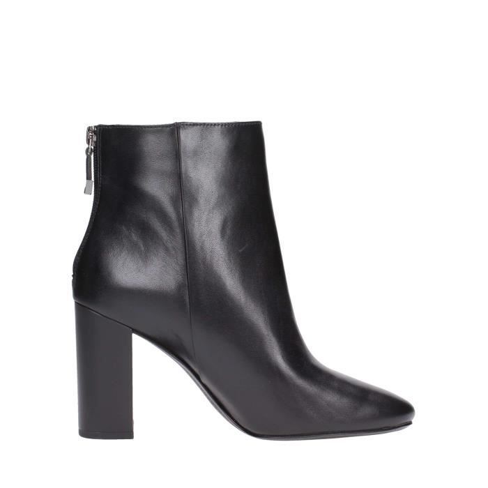 What For Ankle Boots Femme Noir, 40