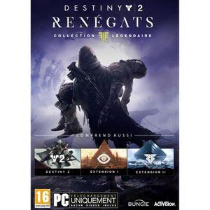 JEU PC Destiny 2 Renegats Collection Légendaire Jeu PC