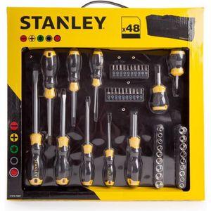 PACK OUTIL A MAIN STANLEY Set de 48 outils à main STHT0-70887 - Avec