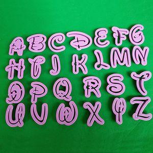 MOULE  26 Alphabet Moule style Disney Lettre Cutter Fonda