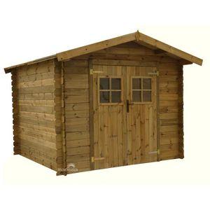 Abri de jardin bois - Achat / Vente Abri de jardin bois pas cher ...