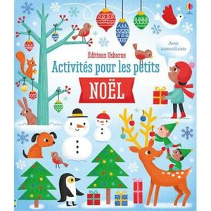LIVRE 0-3 ANS ÉVEIL Livre - activités pour les petits ; Noël