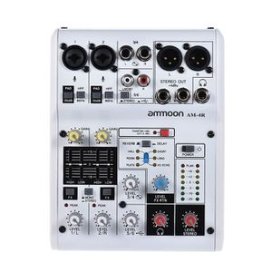 TABLE DE MIXAGE AM-4R 6-Channel Console de mixage audio numérique
