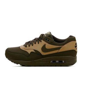 d7b4226073b06a Basket Nike Air Max 1 Premium - 705282-300 Vert Kaki - Achat   Vente ...