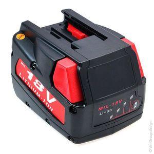 BATTERIE MACHINE OUTIL NX - Batterie outillage électroportatif 18V 2Ah