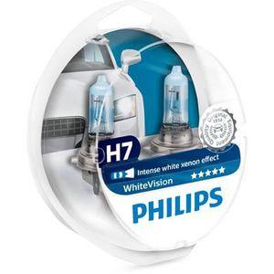 AMPOULE TABLEAU BORD PHILIPS Ampoule WhiteVision 2 H7 12V 55W