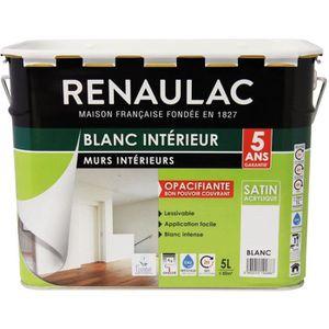 PEINTURE - VERNIS RENAULAC Peinture intérieur Murs & Plafonds Bicouc