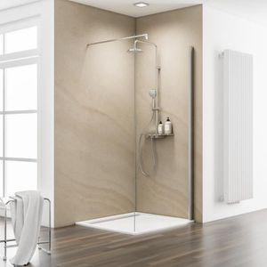 paroi de douche 140 cm achat vente paroi de douche 140 cm pas cher cdiscount. Black Bedroom Furniture Sets. Home Design Ideas