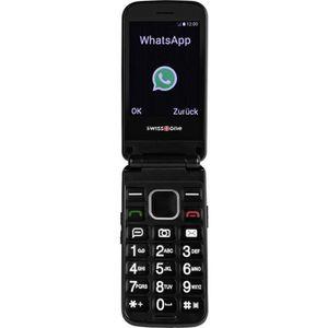 Téléphone portable Téléphone portable à clapet pour séniors swisstone
