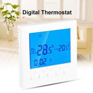 THERMOSTAT D'AMBIANCE WiFi Thermostat d'ambiance numérique Thermostat de