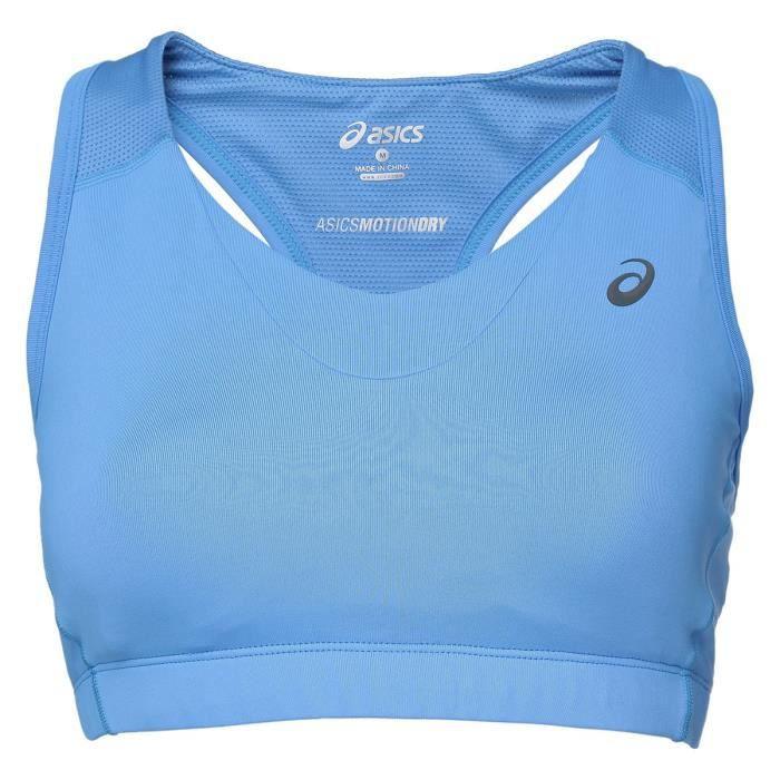ASICS Brassière de Sport Top - Femme - Bleu