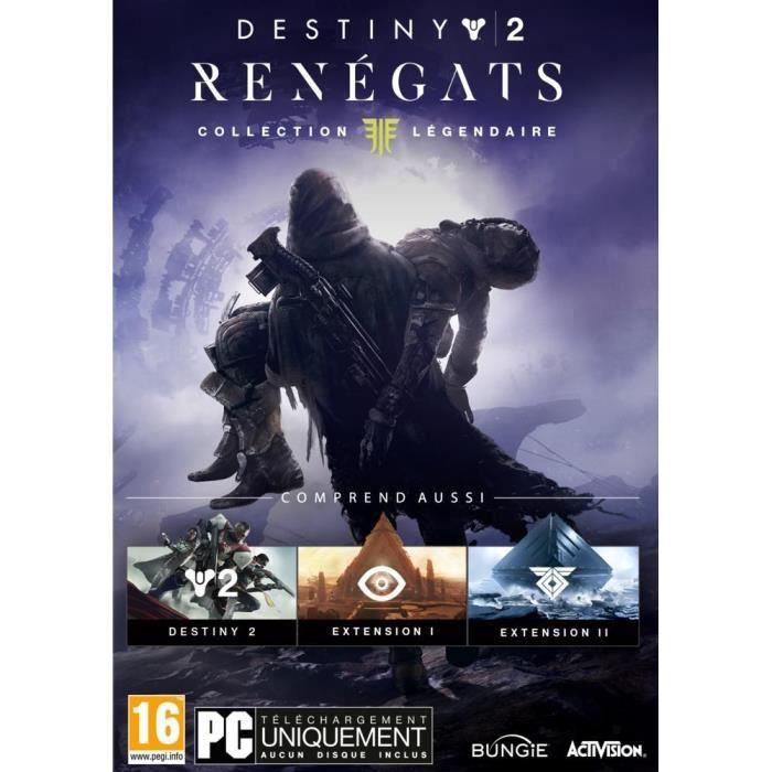 Destiny 2 Renegats Collection Légendaire Jeu PC